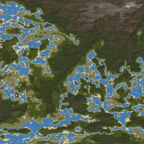 Screenshot for Rina's Ridiculous Rivers (10x10 Map)