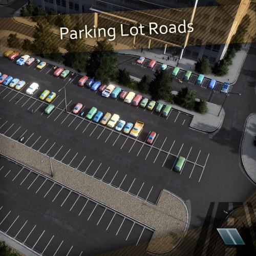 Parking Lot Roads - Source files - Programs & Tools