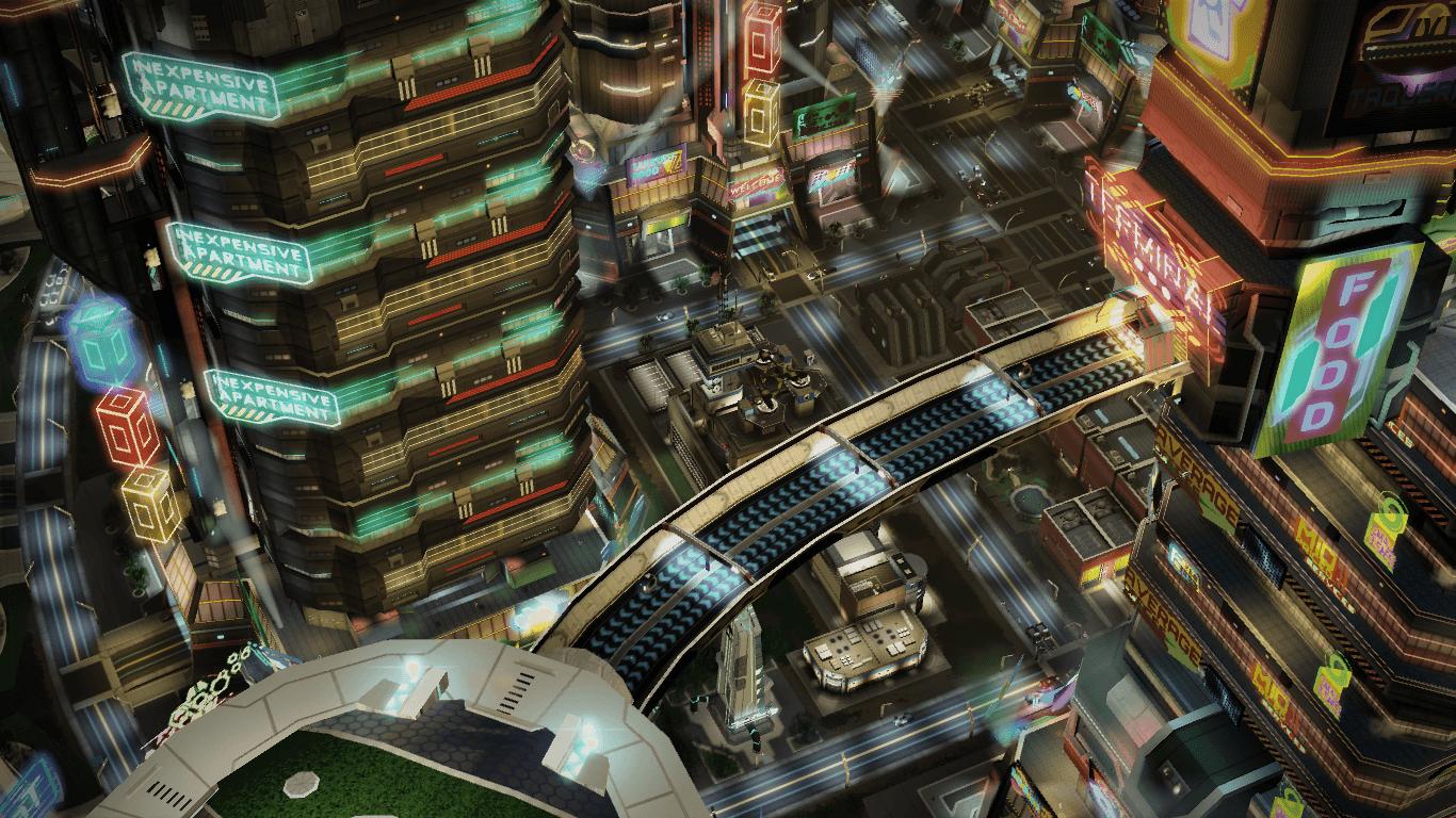 Mandias Hub (Inner city view)