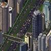 Despite adding an auxillary lane, this highway still congests